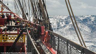 L'Hermione, una odisea marítima para el recuerdo