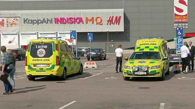 Ámokfutó ölt meg két embert egy svédországi áruházban