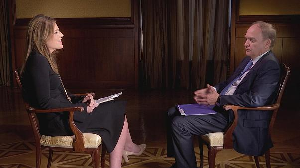 Image: Savannah Guthrie interviews Russian Ambassador to the U.S. Anatoly A