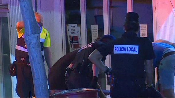 West Midlands to Magaluf - British bobbies patrol Spanish resort town
