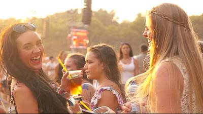 Fans gather Budapest's Island of Freedom for 23rd Sziget Festival