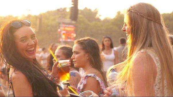 Müzik ziyafeti Sziget Festivali hızlı başladı