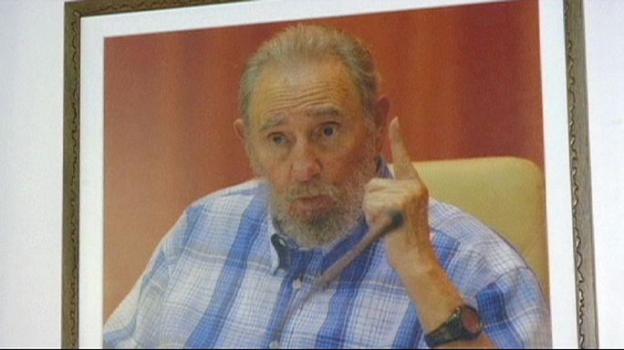 Castro'nun doğum günü için sergi açıldı