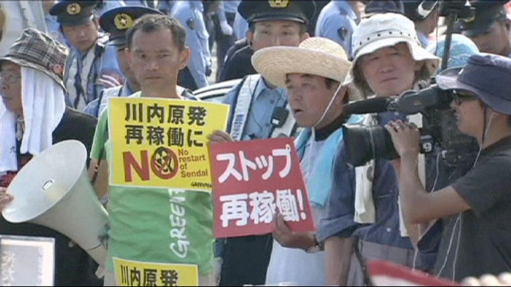 Japón enciende su primer reactor nuclear tras dos años de apagón