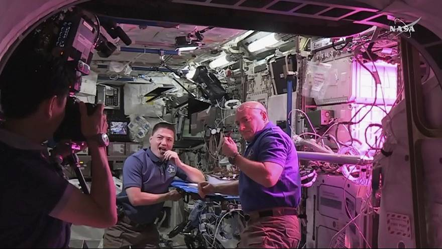 La première salade spatiale au menu de l'ISS