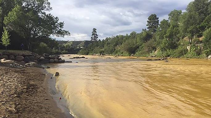 Colorado river is contaminated after mine clean-up goes wrong