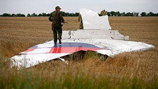 """Гибель MH17: следователи изучают предполагаемые осколки """"Бука"""""""