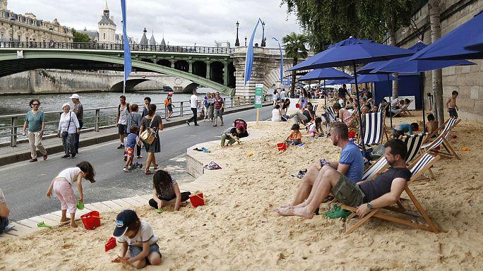Парижский пляж как жертва ближневосточного конфликта