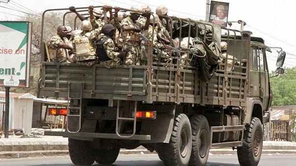 Pokolgép döntött romba egy piacot Nigériában