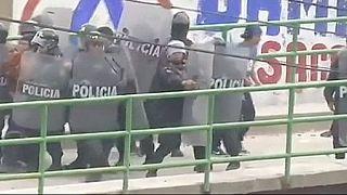 Sciopero minatori, scontri in Perù: un morto e decine di feriti