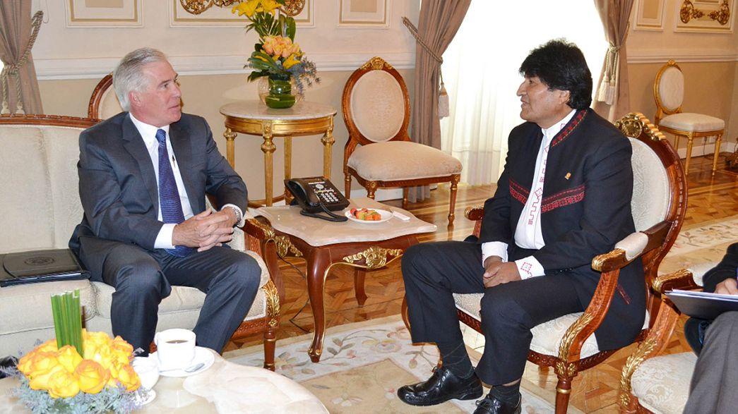 Bolivia y EE.UU intentan recuperar las relaciones diplomáticas