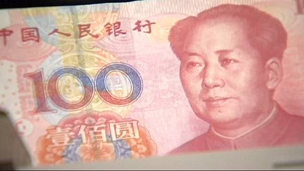 تراجع السوق الصينية بعد تخفيض سعر صرف اليوان