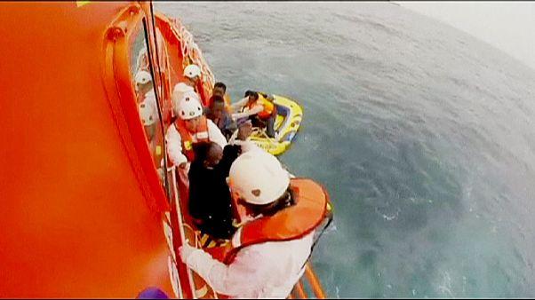 Migranti soccorsi in Spagna