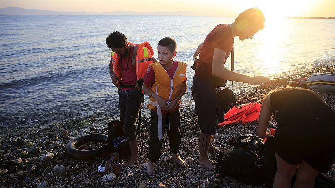 A görög szigeteknél ér partot a legtöbb menekült kelet felől