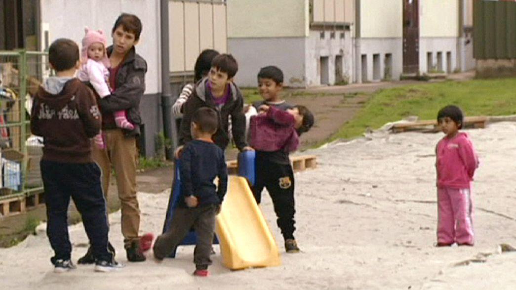 Alemania busca soluciones de emergencia para albergar a miles de refugiados