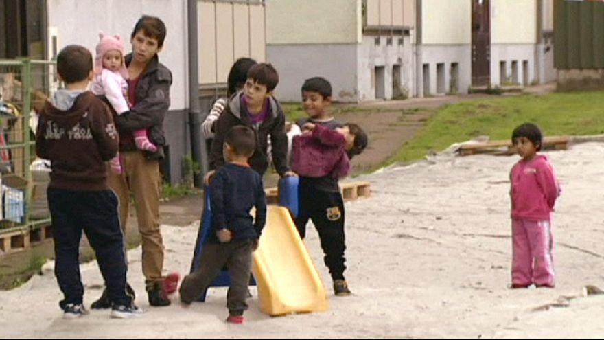 Migrantes encontram abrigo temporário na Alemanha