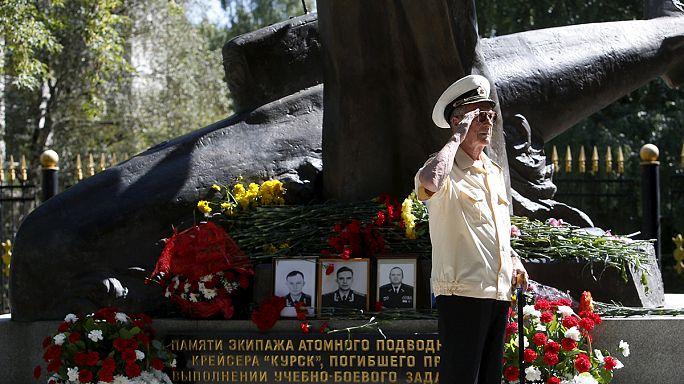 A 15 éve elsüllyedt Kurszk áldozataira emlékeztek