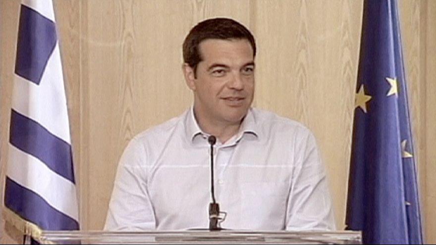 Yunanistan'da gözler Cuma'da