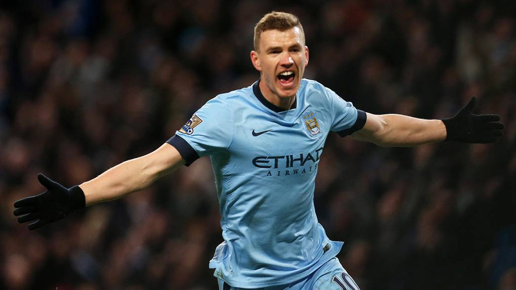 Man City's Dzeko moves to Roma in loan deal