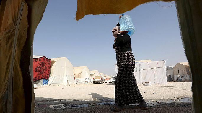 Displaced Yazidis hope to return home