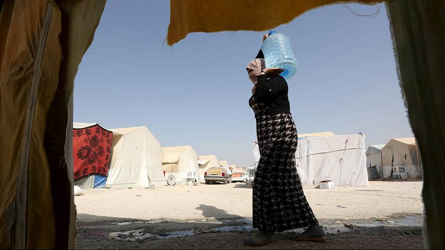 Displaced Yazidis hope to return home