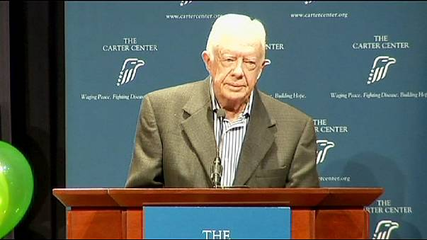 El expresidente de EE.UU. Jimmy Carter padece un cáncer