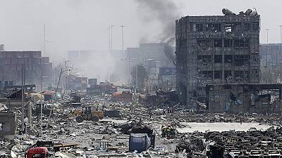 China blasts death toll rises to 44, with more than 500 injured