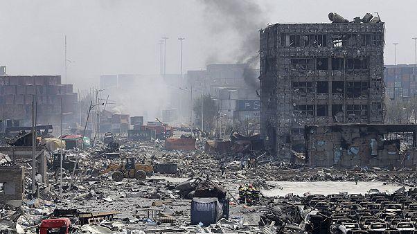 Hatalmas robbanás egy kínai gyárban - sok halott