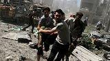 Otto morti in attacchi aerei siriani