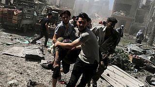 Acht Opfer bei syrischem Luftangriff