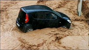 Inundações no litoral italiano