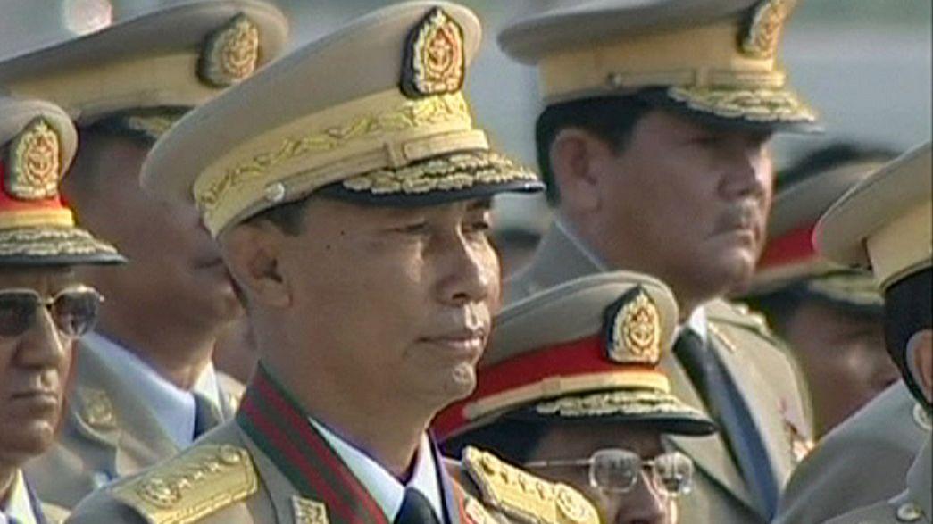 Machtkampf kurz vor den Wahlen in Myanmar: Ehemalige Militärs putschen gegen ihren Parteichef