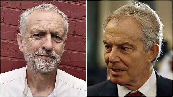 Blair: İşçi Partisi gözleri kapalı bir şekilde uçuruma yürüyor