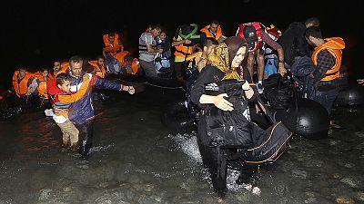 More migrants arrive on Greek island of Kos