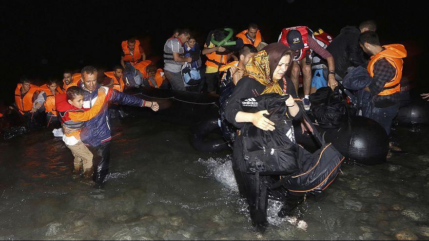 Sécurité renforcée sur l'île grecque de Kos où affluent les migrants