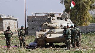 حمله شیمیایی به پیشمرگان کرد