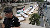 Un homenaje de París a Tel Aviv provoca escenas de tensión a orillas del Sena