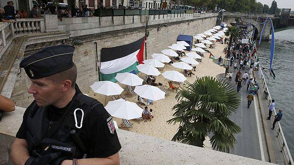 'Tel Aviv sulla Senna' contestata da filo-palestinesi