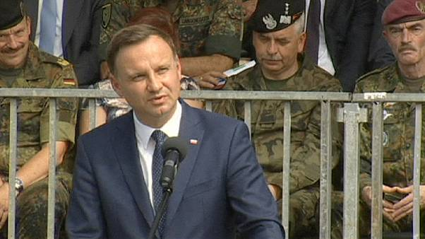 Poland's president criticises NATO for treating country like 'buffer zone'