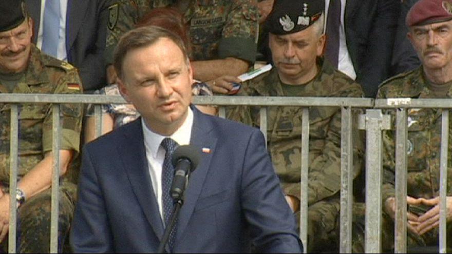 الرئيس البولندي الجديد يطالب بزيادة قواعد حلف الناتو في بلاده