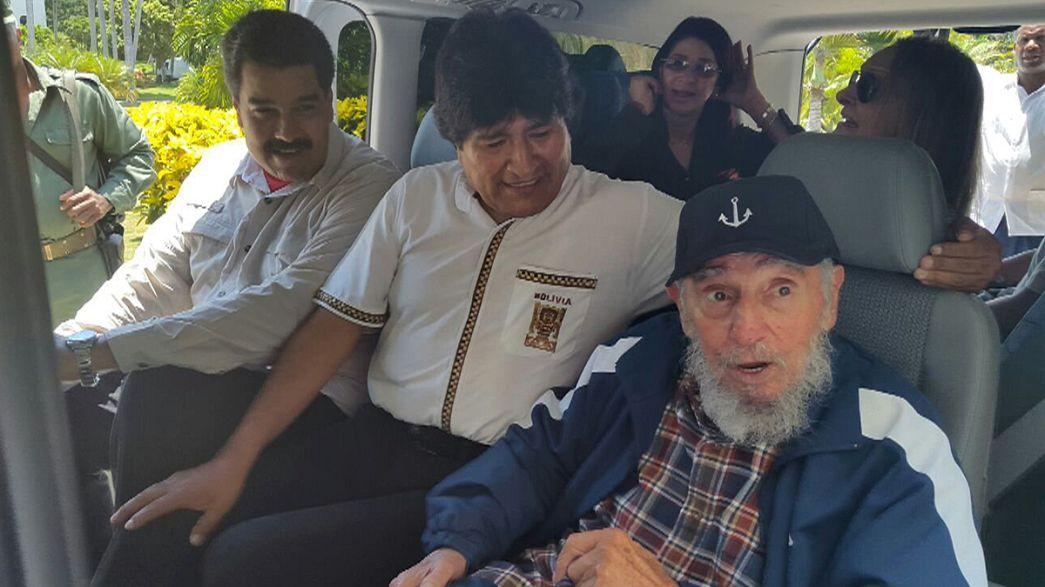 Cuba : anniversaire de Fidel Castro, la veille de la visite de John kerry