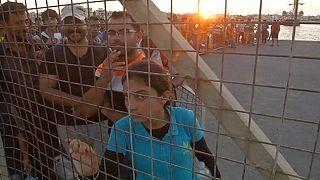 На греческом острове Кос мигранты - четверть населения