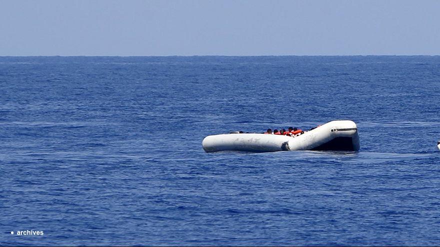[Video] Pescadores turcos acusan a guardacostas griegos de hundir una barca con inmigrantes