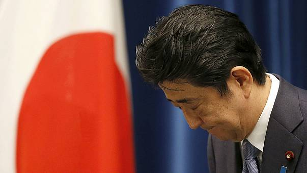 Japan's Abe gives no fresh apology on WWII anniversary
