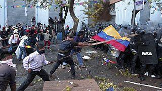 Ekvador'da Devlet Başkanı Correa karşıtı eylemler sürüyor