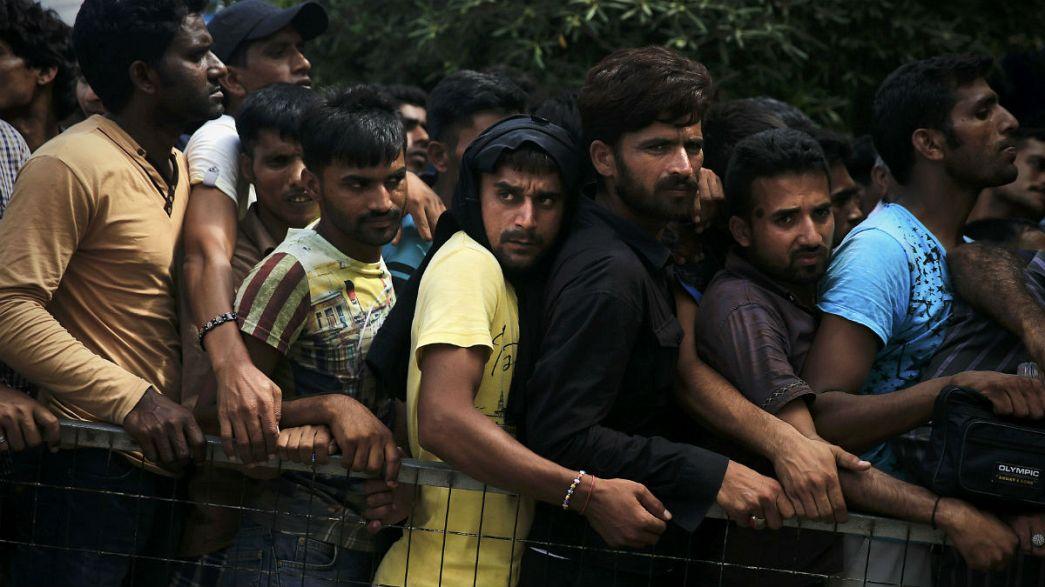 Il dramma dei migranti nei servizi dei telegiornali europei
