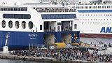 Греция не справляется с наплывом мигрантов, Еврокомиссия обещает помочь деньгами