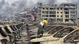 اعزام بیش از دویست کارشناس شیمیایی ارتش چین به محل انفجار شهر تیانجین