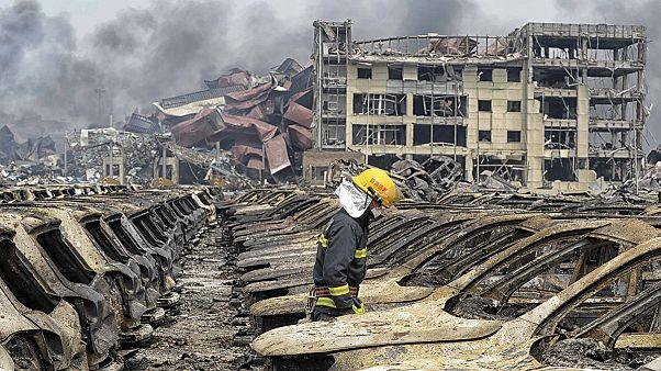 الصين: عمليات بحث مكثفة لتحديد سبب الانفجارات التي وقعت في تيانجين