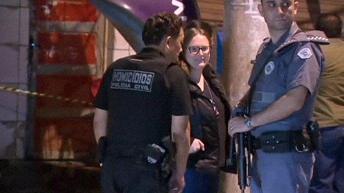 Brazil shooting spree leaves 19 people dead around Sao Paulo